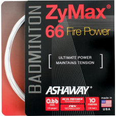 Badminton string Ashaway ZyMax 66 Fire Power